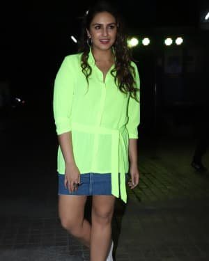Huma Qureshi - Photos: Screening Of Bhoot The Haunted Ship At Pvr Juhu | Picture 1722012