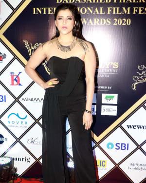 Mannara Chopra - Photos: Dadasaheb Phalke Awards 2020 At Taj Lands End | Picture 1722119