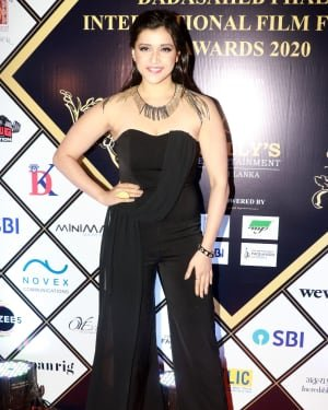 Mannara Chopra - Photos: Dadasaheb Phalke Awards 2020 At Taj Lands End