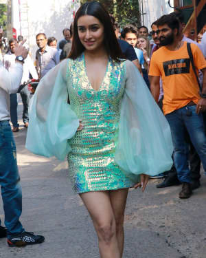 Shraddha Kapoor - Photos: Promotion Of Baaghi 3 At The Grand Finale Of Dance Plus 5 | Picture 1722229