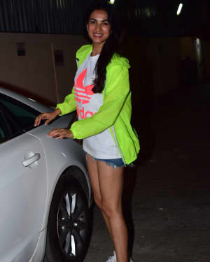 Sonal Chauhan - Photos: Celebs Spotted At Pvr Juhu