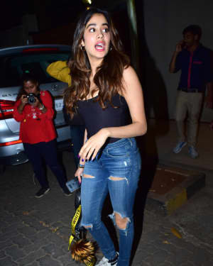 Janhvi Kapoor - Photos: Shashank Khaitan Birthday Party At His Home | Picture 1723702