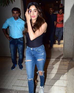 Janhvi Kapoor - Photos: Shashank Khaitan Birthday Party At His Home | Picture 1723701