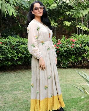 Kangana Ranaut - Photos: Promotion Of Film Panga At Jw Marriott | Picture 1712516