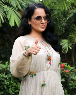 Kangana Ranaut - Photos: Promotion Of Film Panga At Jw Marriott
