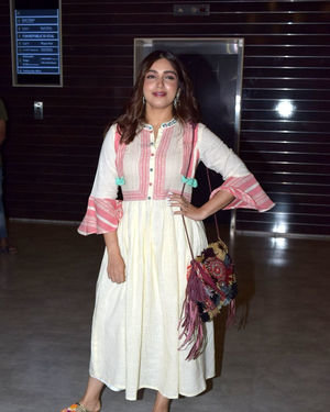 Bhumi Pednekar - Photos: Screening Of Sab Kushal Mangal At Cinepolis