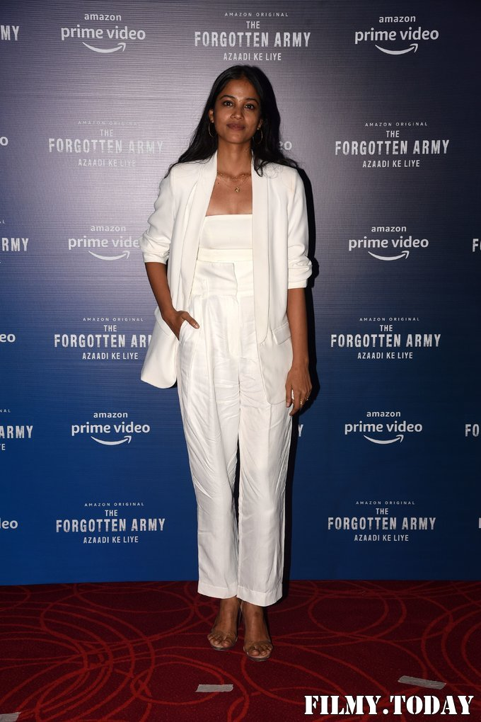 T J Bhanu - Photos: Trailer Launch Of Amazon's The Forgotten Army At Pvr   Picture 1713249