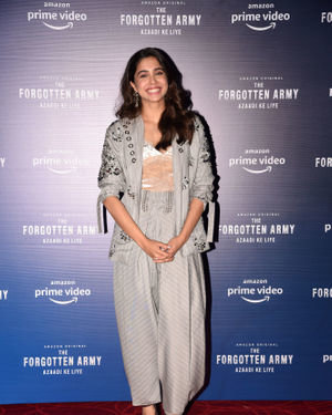 Sharvari Wagh - Photos: Trailer Launch Of Amazon's The Forgotten Army At Pvr