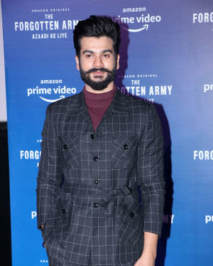 Sunny Kaushal - Photos: Trailer Launch Of Amazon's The Forgotten Army At Pvr