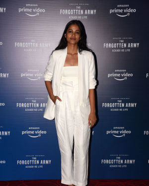 T J Bhanu - Photos: Trailer Launch Of Amazon's The Forgotten Army At Pvr | Picture 1713249