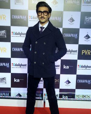 Ranveer Singh - Photos:  Screening Of Film Chhapaak At Pvr Lower Parel | Picture 1713578