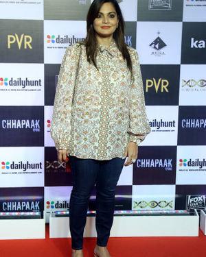 Alvira Khan Agnihotri - Photos:  Screening Of Film Chhapaak At Pvr Lower Parel
