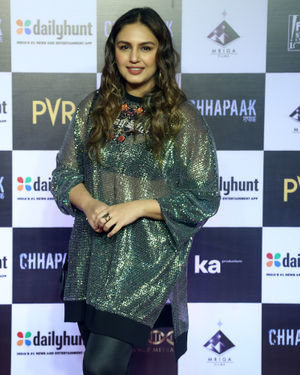 Huma Qureshi - Photos:  Screening Of Film Chhapaak At Pvr Lower Parel | Picture 1713642