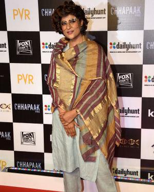 Tahira Kashyap - Photos:  Screening Of Film Chhapaak At Pvr Lower Parel