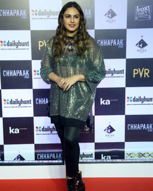 Huma Qureshi - Photos:  Screening Of Film Chhapaak At Pvr Lower Parel | Picture 1713634