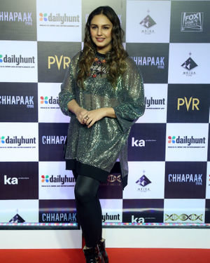 Huma Qureshi - Photos:  Screening Of Film Chhapaak At Pvr Lower Parel | Picture 1713638