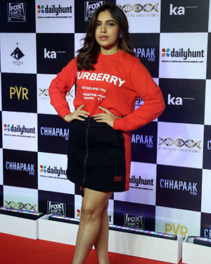 Bhumi Pednekar - Photos:  Screening Of Film Chhapaak At Pvr Lower Parel | Picture 1713625