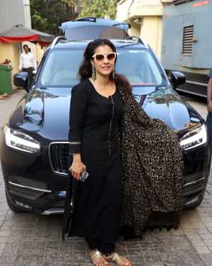 Kajol - Photos: Special Screening Of Tanhaji With Family And Friends