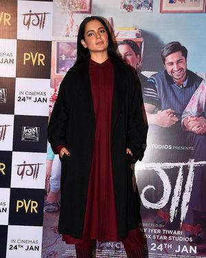 Kangana Ranaut - Photos: Panga Film Press Meet At Hyderabad | Picture 1713833