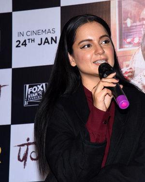 Kangana Ranaut - Photos: Panga Film Press Meet At Hyderabad | Picture 1713825