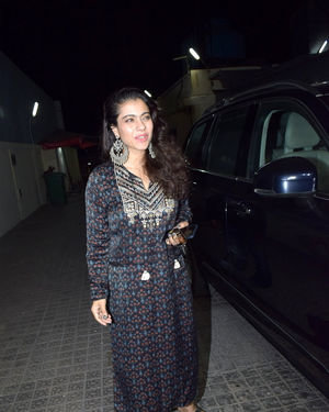 Kajol - Photos: Celebs Spotted At Pvr Juhu | Picture 1713880