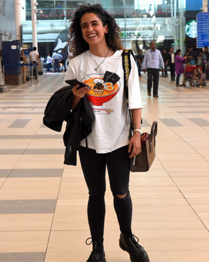 Sanya Malhotra - Photos: Celebs Spotted At Santacruz