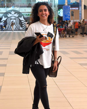 Sanya Malhotra - Photos: Celebs Spotted At Santacruz | Picture 1713998