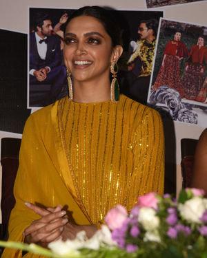 Photos: Deepika Padukone At The Press Club Calendar 2020 Launch