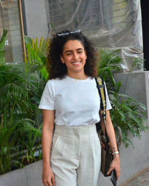 Sanya Malhotra - Photos: Celebs Spotted At Juhu