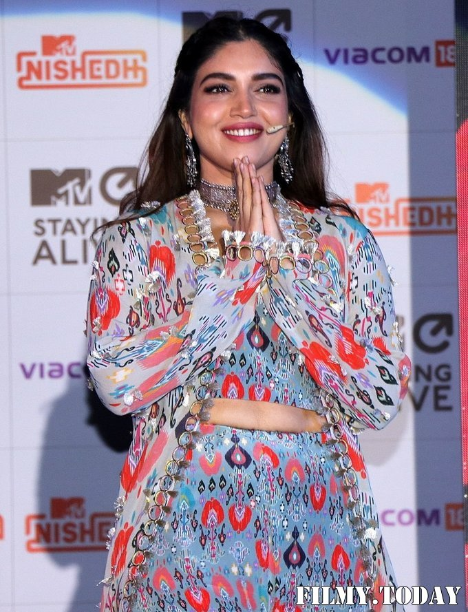 Bhumi Pednekar - Photos: Launch Of MTV New Drama Series Nishedh | Picture 1715117