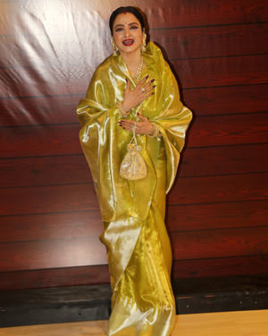 Rekha - Photos: Javed Akhtar Birthday Party At Taj Lands End | Picture 1715944