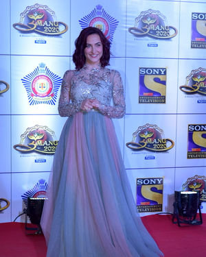 Elli Avram - Photos: Celebs At Umang Police Festival At Jio World Centre | Picture 1716158