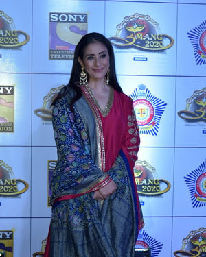 Manisha Koirala - Photos: Celebs At Umang Police Festival At Jio World Centre