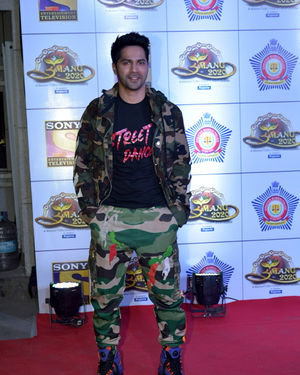 Varun Dhawan - Photos: Celebs At Umang Police Festival At Jio World Centre