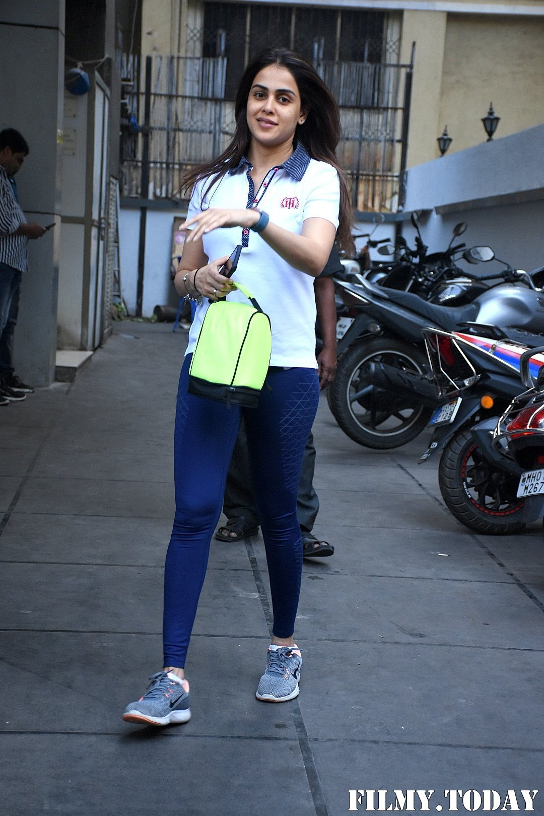 Genelia D Souza - Photos: Celebs Spotted At Gym In Bandra | Picture 1716524