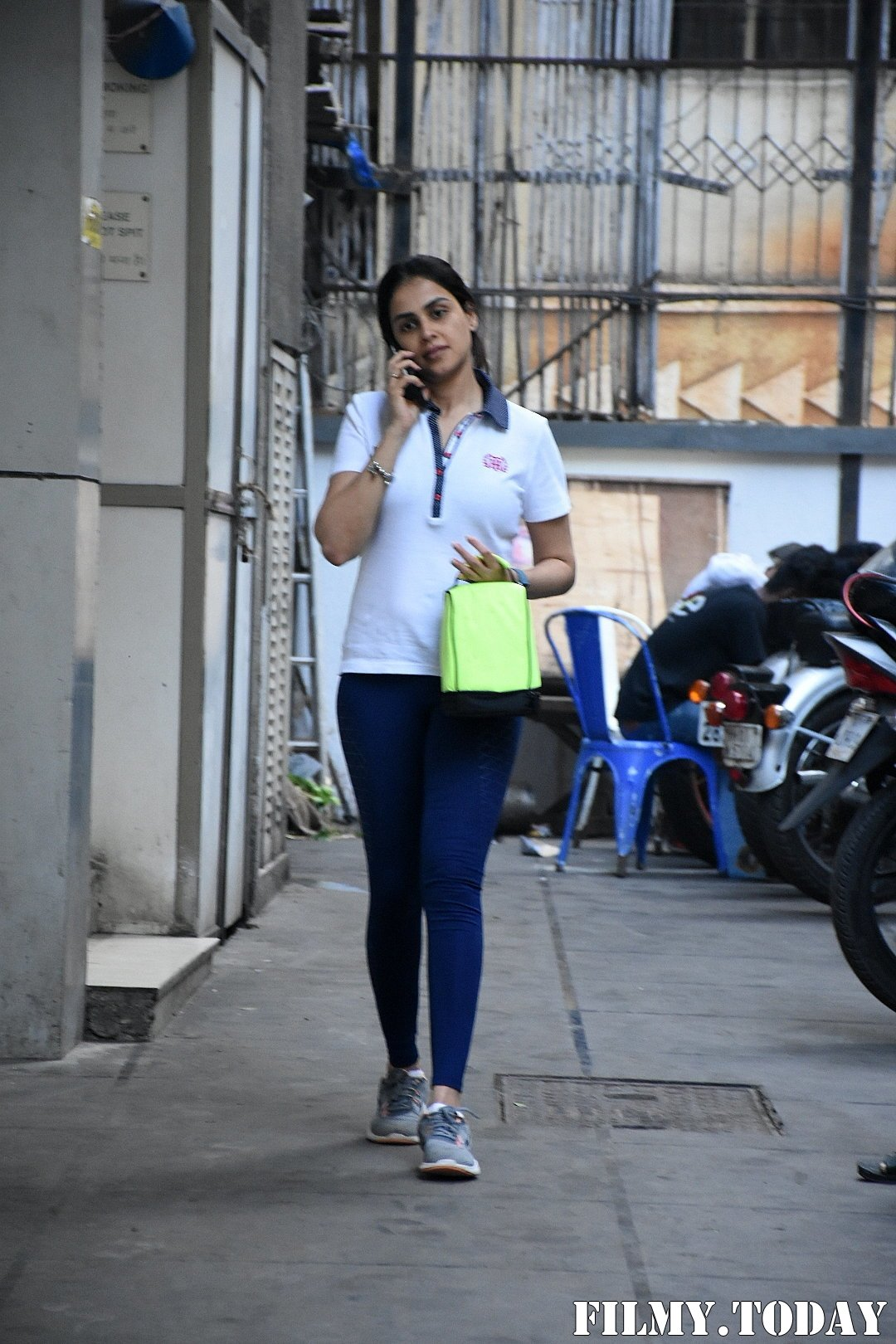 Genelia D Souza - Photos: Celebs Spotted At Gym In Bandra | Picture 1716521