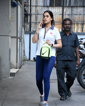 Genelia D Souza - Photos: Celebs Spotted At Gym In Bandra | Picture 1716522