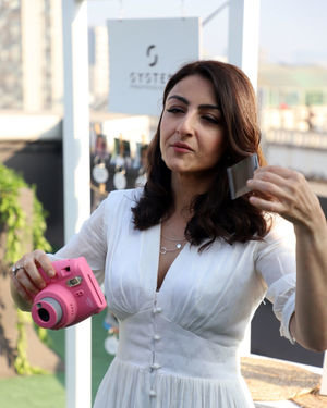 Photos: Soha Ali Khan At The Launch Of New Haircare Brand INESSENCE | Picture 1716444