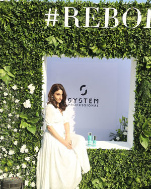 Photos: Soha Ali Khan At The Launch Of New Haircare Brand INESSENCE | Picture 1716440