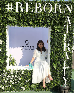 Photos: Soha Ali Khan At The Launch Of New Haircare Brand INESSENCE | Picture 1716439