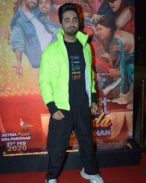 Ayushmann Khurrana - Photos: Trailer Success Party Of Film Shubh Mangal Zyada Saavdhan At Hard Rock Cafe | Picture 1716495