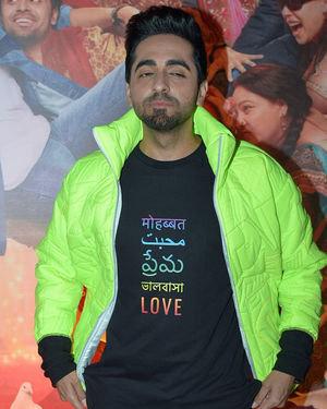 Ayushmann Khurrana - Photos: Trailer Success Party Of Film Shubh Mangal Zyada Saavdhan At Hard Rock Cafe | Picture 1716497