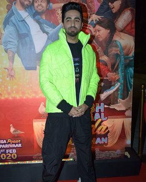 Ayushmann Khurrana - Photos: Trailer Success Party Of Film Shubh Mangal Zyada Saavdhan At Hard Rock Cafe | Picture 1716496