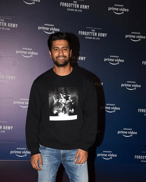 Vicky Kaushal - Photos: Screening Of The Forgotten Army At Pvr Icon
