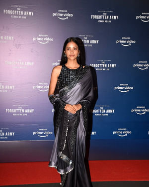 T J Bhanu - Photos: Screening Of The Forgotten Army At Pvr Icon