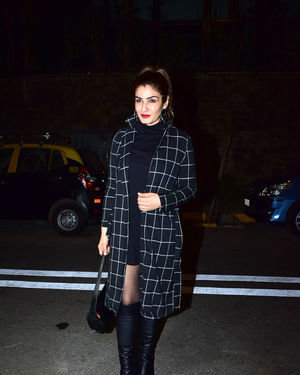 Raveena Tandon - Photos: Goldie Behl Birthday Party At Juhu | Picture 1717368