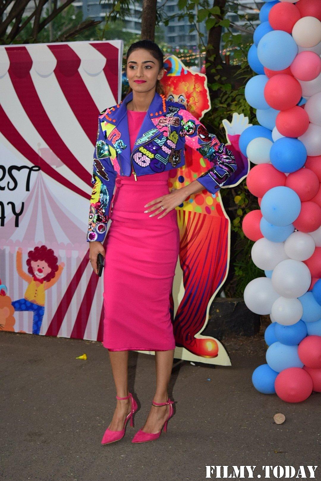 Erika Fernandez - Photos: Birthday Party Of Ekta Kapoor's Son Ravie At Juhu | Picture 1717599