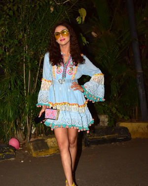 Krystal D'Souza - Photos: Birthday Party Of Ekta Kapoor's Son Ravie At Juhu | Picture 1717608