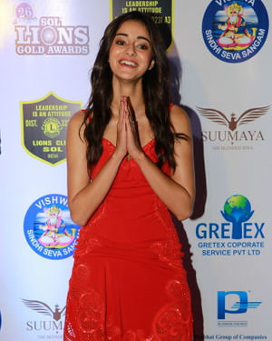 Ananya Pandey - Photos: Celebs At 26th Lions Gold Awards | Picture 1717502