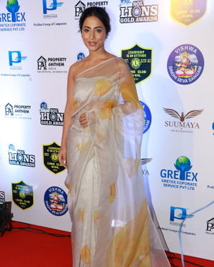 Hina Khan - Photos: Celebs At 26th Lions Gold Awards | Picture 1717428